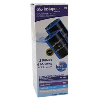R5-2PK Instapure Complete Faucet Filter Replacement Cartridge (Pack of 2)