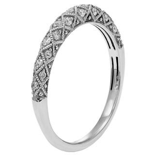 Sofia 14k Gold 1/6ct TDW Diamond Wedding Band (H-I, I1-I2)