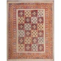 Herat Oriental Afghan Hand-woven Tribal Wool Kilim - 9'9 x 12'10