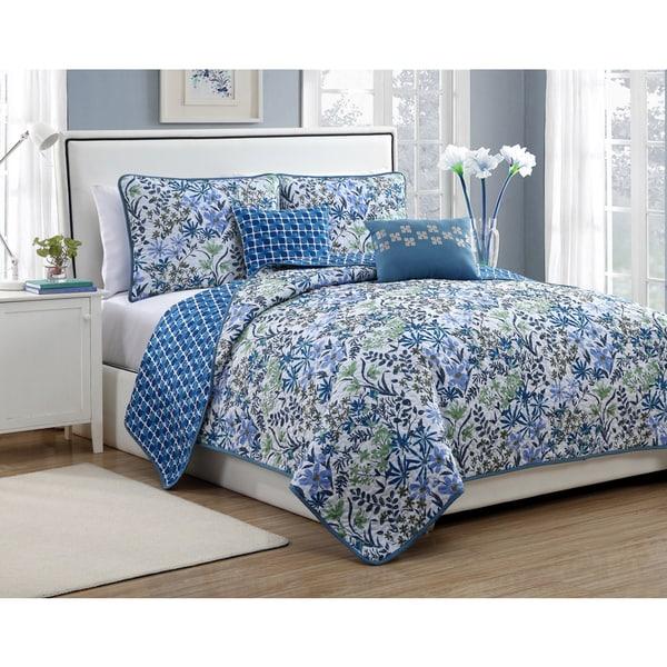 Avondale Manor Katerina 5-piece Reversible Quilt Set