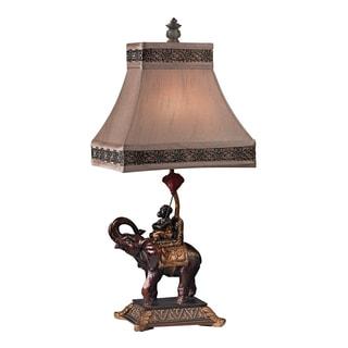 Dimond Alanbrook Monkey On Elephant 1-light Accent Lamp