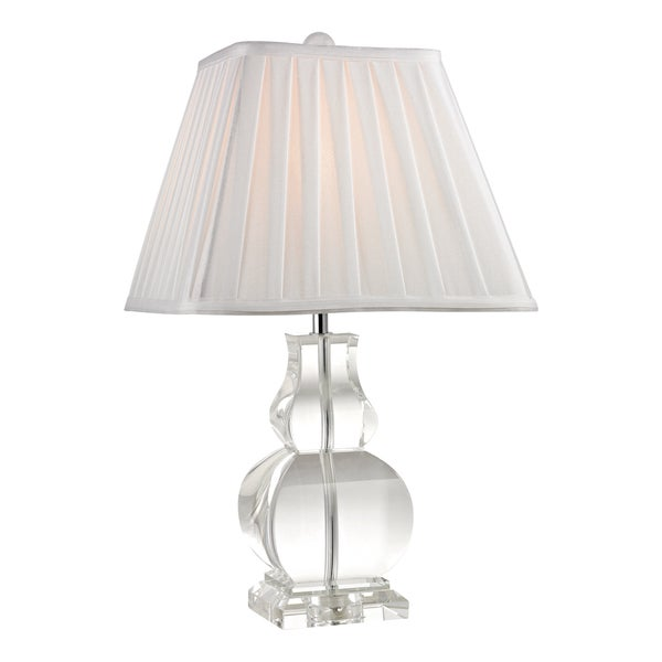 Mini Crystal Table Lamps: Dimond Downtown Square 1-light Mini Gourd Crystal Table Lamp,Lighting