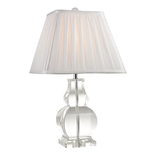 Dimond Downtown Square 1-light Mini Gourd Crystal Table Lamp