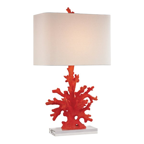 Dimond Red Coral 1-light Table Lamp