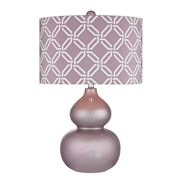 Dimond Ivybridge Lilac 1-light Ceramic Table