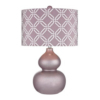Dimond Ivybridge Lilac 1-light Ceramic Table
