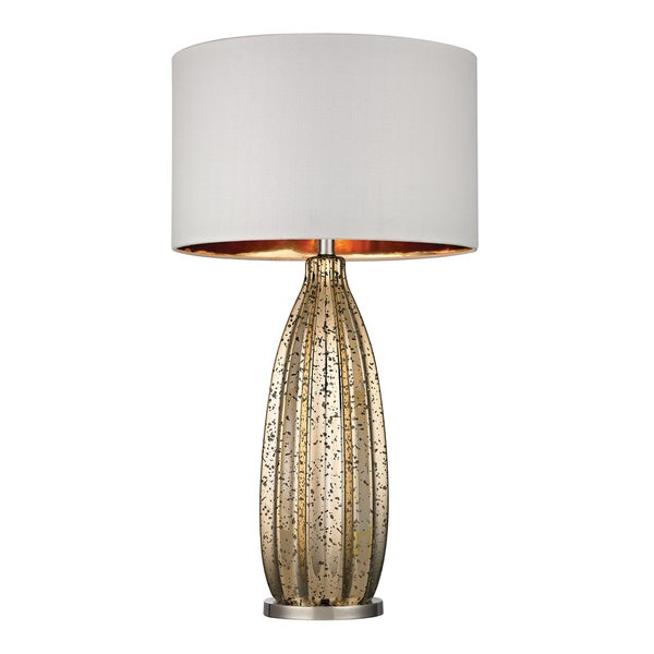 Dimond Pennistone 1-light Gold Mercury Glass Bullet Lamp