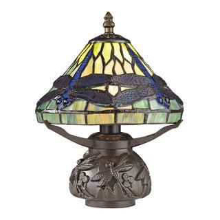 Dimond Flintwick 1-light Mini Tiffany-style Dragon Fly Table Lamp