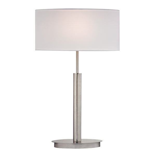 Dimond Port Elizabeth 1-light Satin Nickel Table Lamp