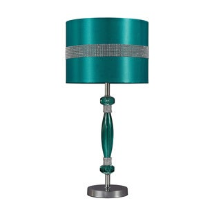Signature Design by Ashley 1-light Teal Table Lamp (As Is Item)