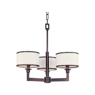 Maxim Nexus Bronze 3-light Chandelier