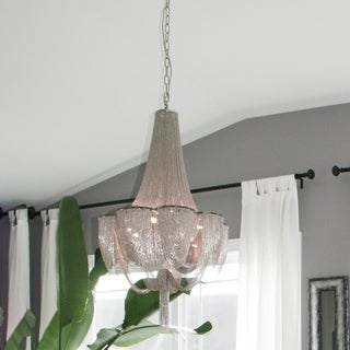 Maxim Chantilly Nickel 14-light Chandelier