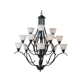 Maxim Linda Black 15-light Chandelier