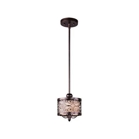 Maxim Mondrian Bronze 1-light Mini-pendant