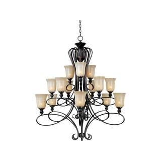 Maxim Infinity Bronze 15-light Chandelier