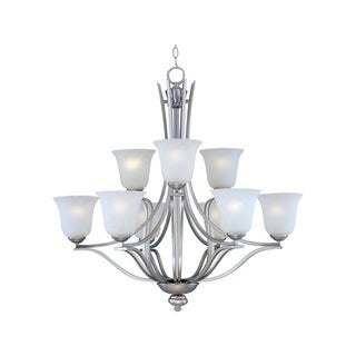 Maxim Madera Silver 9-light Chandelier