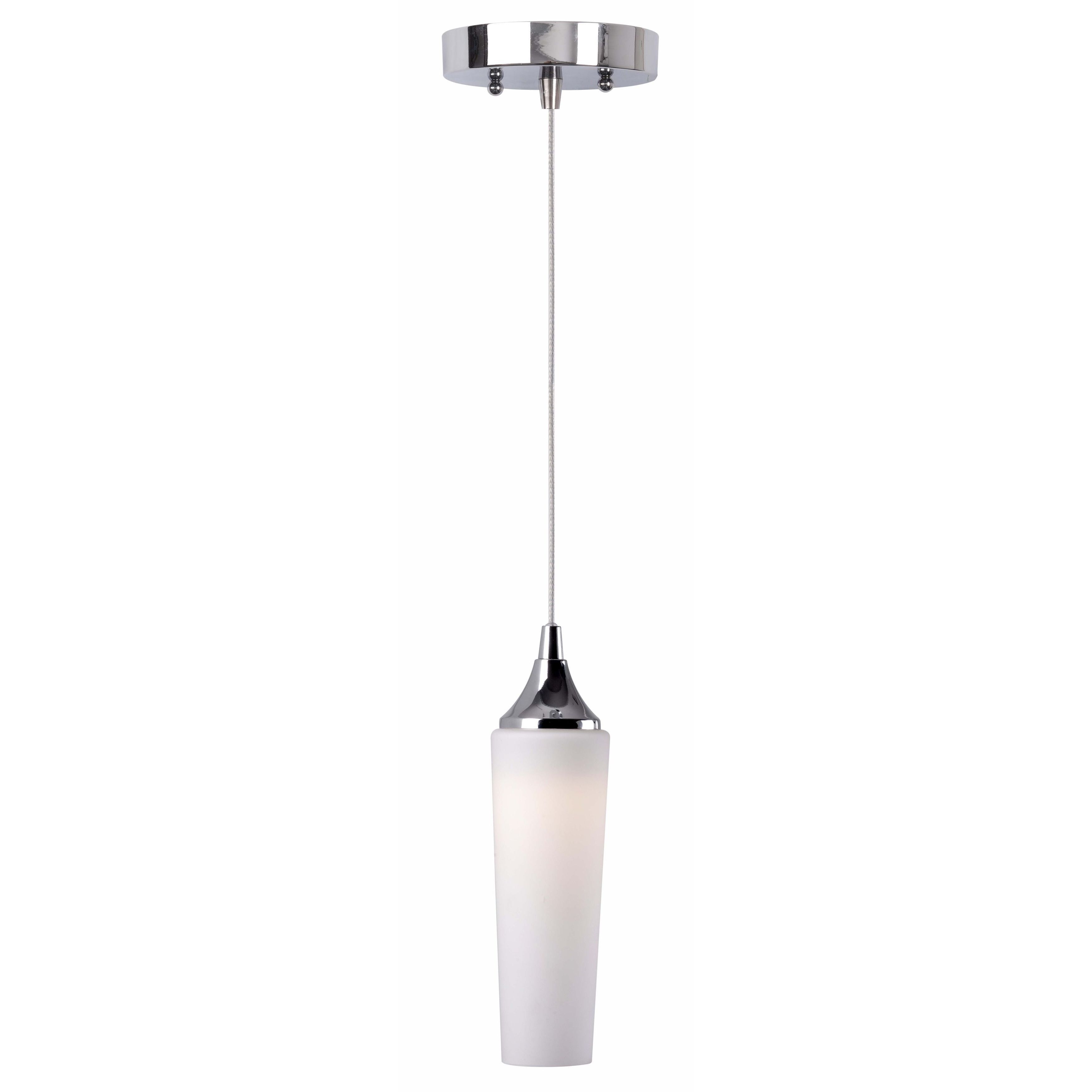 Design Craft Igloo LED Mini Pendant, Grey chrome (Metal)