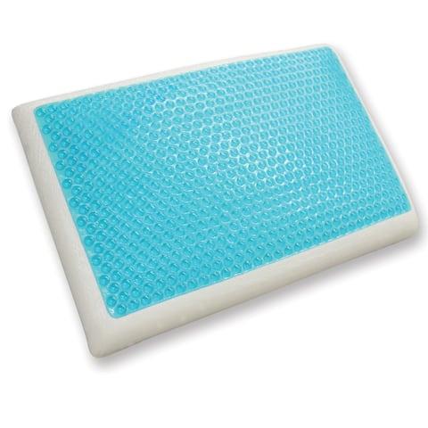 PostureLoft Kaia Standard-size Cool Gel Reversible Memory Foam Pillow