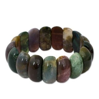 holistic ireland polished healing gemstone crystals bracelet jasper jewellery beaded dalmatian crystal products