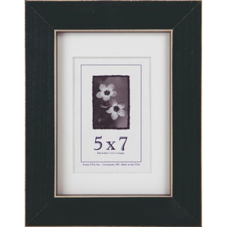 Clean Cut Picture Frame (5-inches x 7-inches) (Option: Green)