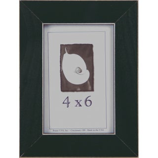 Clean Cut Picture Frame (4-inches x 6-inches) (Option: Green)