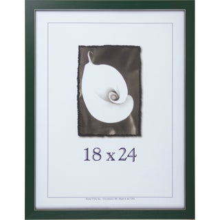 Clean Cut Picture Frame (18-inches x 24-inches) - 18 x 24 (Option: Green)