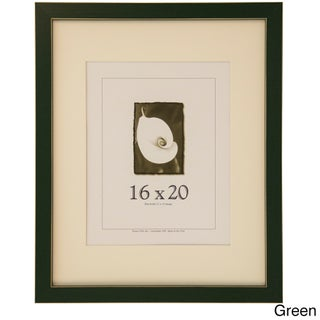 Clean Cut Picture Frame (16-inches x 20-inches) (Option: Green)