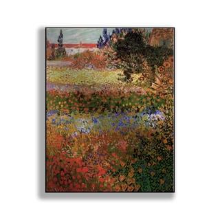 Gallery Direct Vincent Van Gogh's 'Flowering Garden' Print on Metal