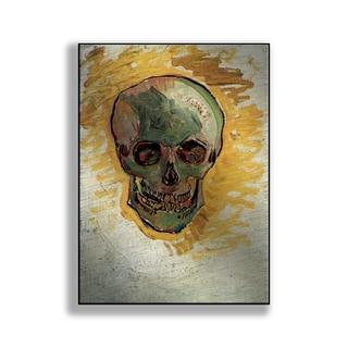Gallery Direct Vincent Van Gogh's 'Skull' Print on Metal