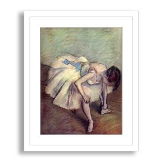 Gallery Direct Edgar Degas' 'Ballet Slipper' Framed Paper Art