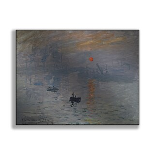 Gallery Direct Claude Monet's 'Impression, Sunrise' Print on Metal