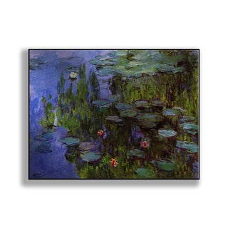 Gallery Direct Claude Monet's 'Water Lilies' Print on Metal