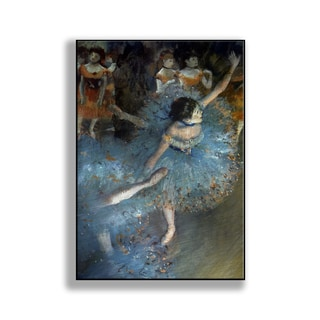 Gallery Direct Edgar Degas' 'Ballet Dancers in Blue' Print on Metal