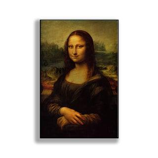Gallery Direct Leonardo Da Vinci 's 'Mona Lisa' Print on Metal