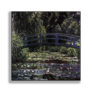 Gallery Direct Claude Monet's 'The Water Lily Pond (Japanese Bridge)' Print on Metal