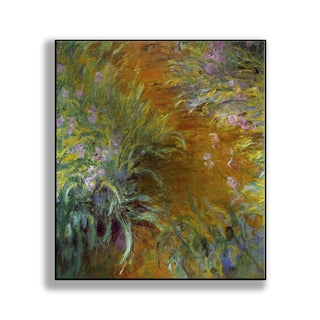 Gallery Direct Claude Monet's 'The Path through the Irises' Print on Metal