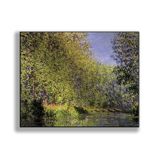 Gallery Direct Claude Monet's 'Bend in the Epte River near Giverny' Print on Metal