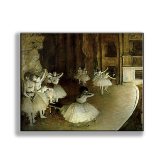 Gallery Direct Edgar Degas' 'Ballet Rehearsal' Print on Metal