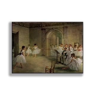 Gallery Direct Edgar Degas' 'Ballet School' Print on Metal