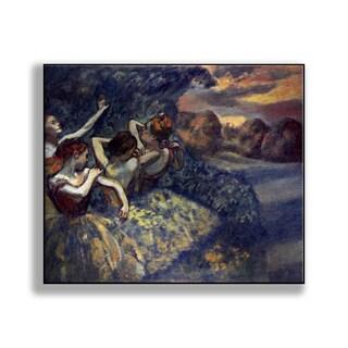 Gallery Direct Edgar Degas' 'Dancers Under Stormy Sky' Print on Metal