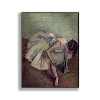 Gallery Direct Edgar Degas' 'Ballet Slipper' Print on Metal