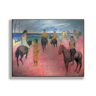 Gallery Direct Paul Gauguin's 'Riders on the Beach II' Print on Metal