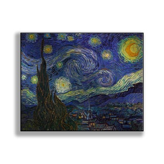 Gallery Direct Vincent Van Gogh's 'Starry Night' Print on Metal