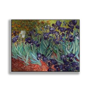 Gallery Direct Vincent Van Gogh's 'Irises' Print on Metal