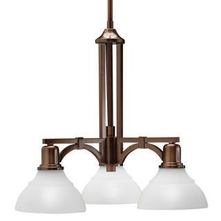 Kichler Lighting Transitional 3-light Oil Rubbed Bronze Chandelier