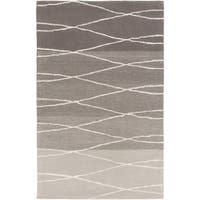 Hand-Tufted Fatima Geometric Wool Area Rug - 8' x 11'