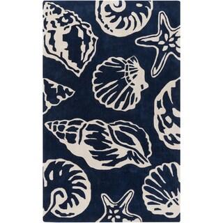 Hand-Tufted Christina Coastal Polyester Rug (5' x 8')