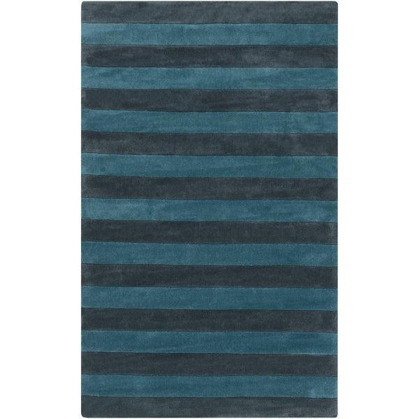 Hand-Tufted Copeland Stripe Area Rug