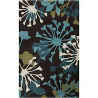 Hand-Tufted Elaina Contemporary Area Rug - 5' x 8'