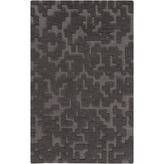 Hand-Woven Albert Solid Wool Rug (5' x 8')